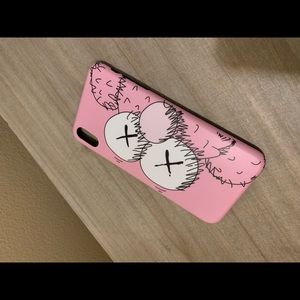 PINK KAWS ELMO IPHONE XS MAX CASE